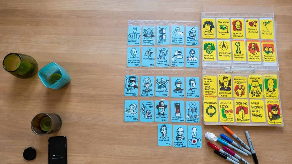 Artefact Cards by Marcus John Henry Brown