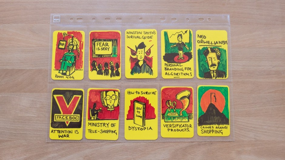 Artefact Cards by Marcus Brown