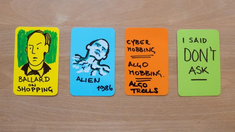 artefact card colour system