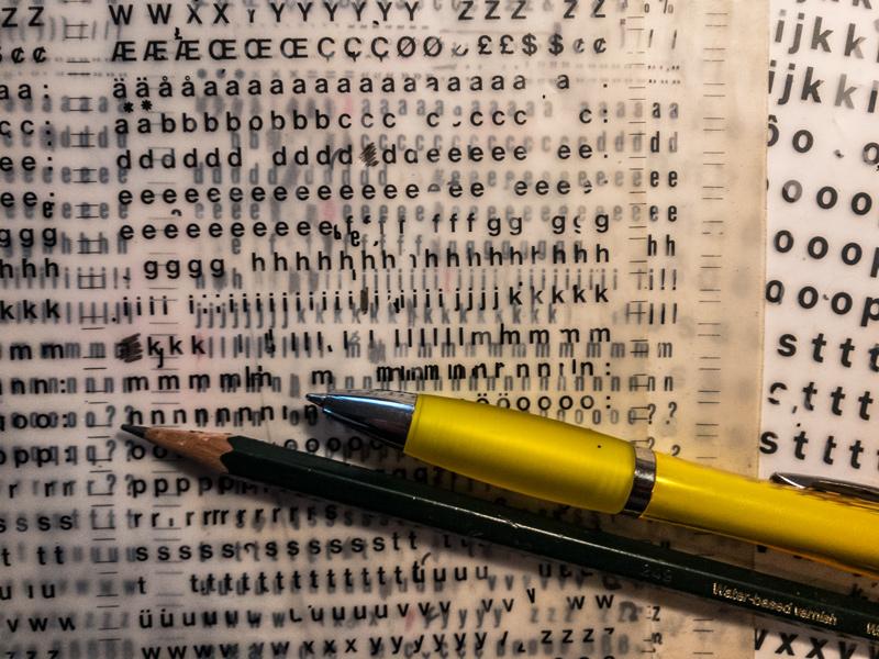 Twitter Lettersets. An Idea for Twitter.